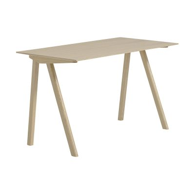 Copenhague Veneer Top Desk CPH90 Matt Lacquered Oak