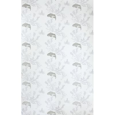 Coral Wallpaper  Pale Grey/Silver