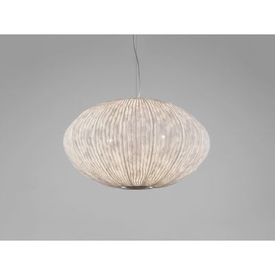 Coral Seaurchin COAU04G Pendant Lamp Orange, Transparent Cable