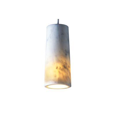 Core Single Pendant Light Carrara Marble