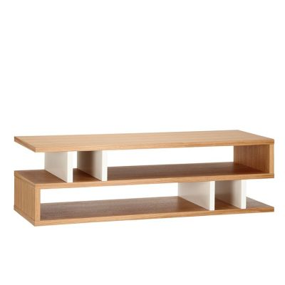 Counter Balance Coffee Table White