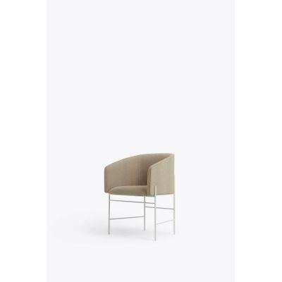 Covent Dining Chair Iron Black, Royal Nubuck Grey 30250