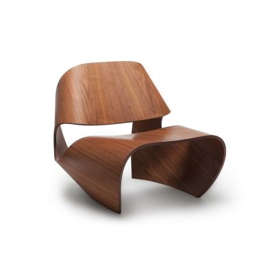 Cowrie Occasional Chair Walnut