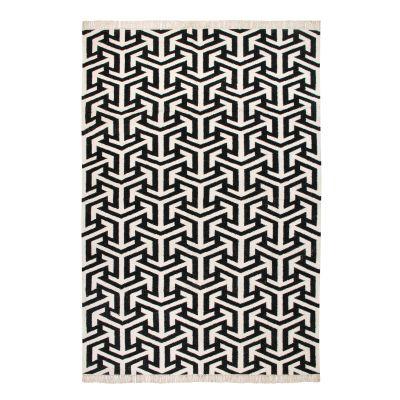 Crossroads: Contemporary Handwoven Wool Rug Crossroads: Contemporary Handwoven Wool Rug (Large)