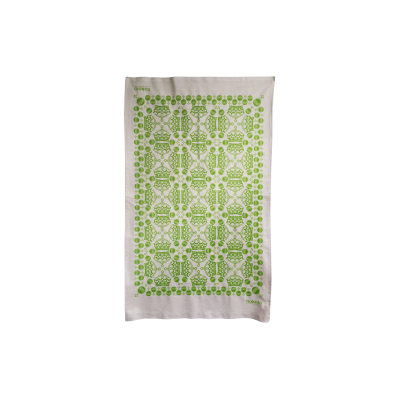 Crown & Orb Tea Towels Green