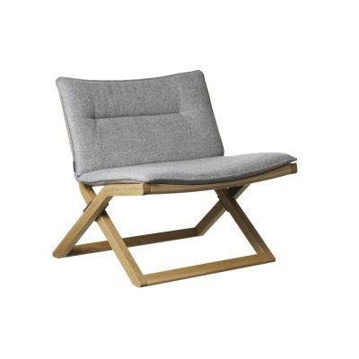 Cruiser Easy Chair Oak Natural Lacquer, Main Line Flax Newbury