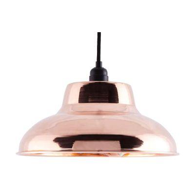CU002  Industrial Copper Pendant CU002