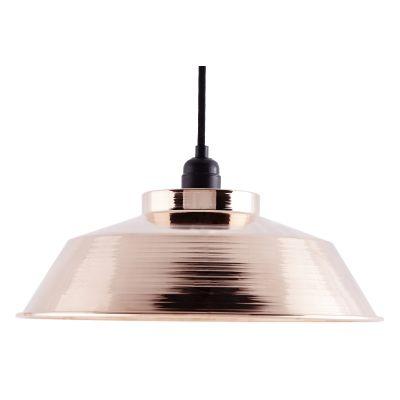 CU001  Industrial Copper Pendant Lamp CU001