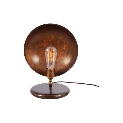 Cullen Table Lamp Satin Brass, UL Plug