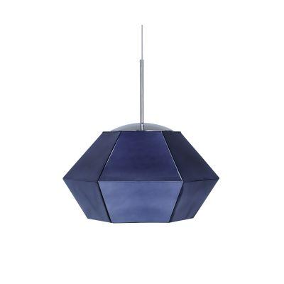 Cut Short Pendant Lamp Blue