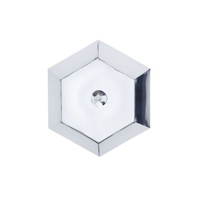Cut Surface Wall Light Chrome