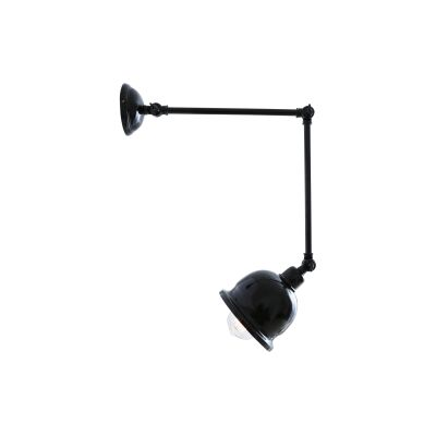 Dale Wall Light Powder Coated Black