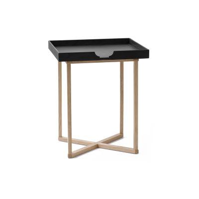 Damien Square Side Table Black