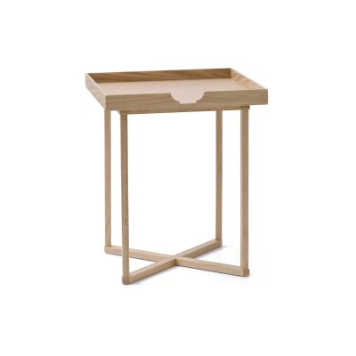 Damien Square Side Table Oak