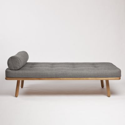 Bolster for Day Bed One Turnberry Grey