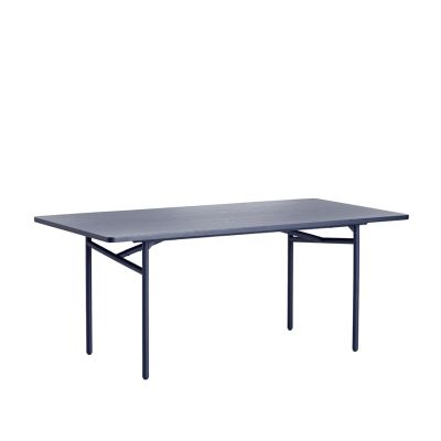 Diagonal dining Blue