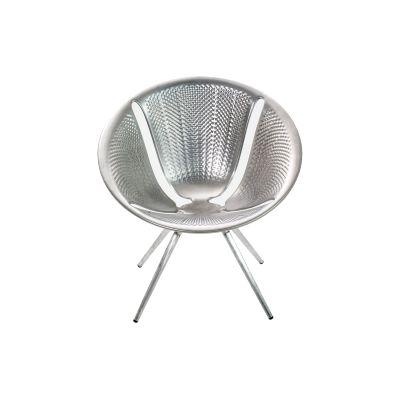 Diatom Small Armchair Aluminium Anodized