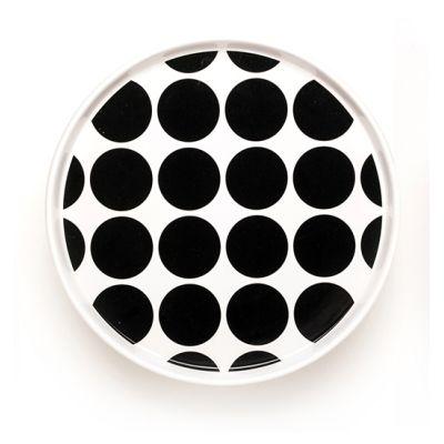 DIDO plate - spots black