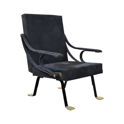 Digamma Armchair Black