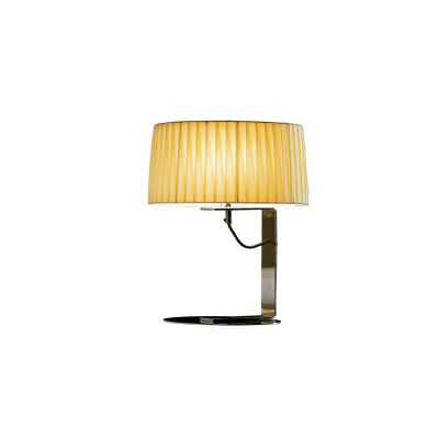 Divina Table Lamp Black plissé