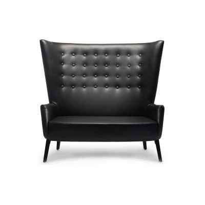 Double LovedUp Sofa Ingleston Amazon, Mixed Colours, Bespoke Stained Beech
