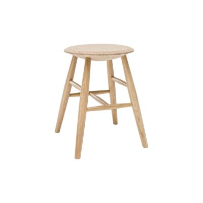 Drifted Stool Light Cork, Natural Cork