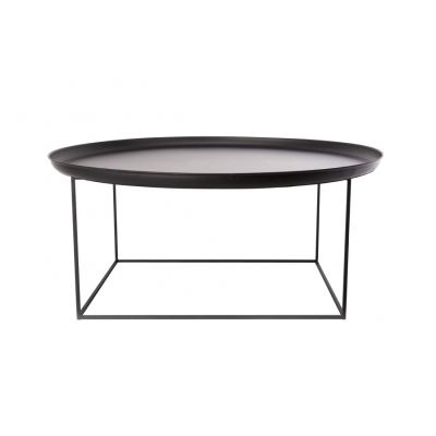 Duke Coffee Table Earth Black, Large
