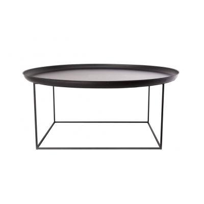Duke Coffee Table Earth Black, Large