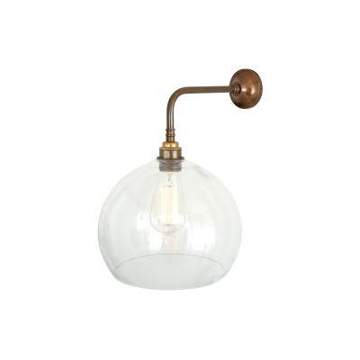 Eden Modern Wall Light Satin Brass