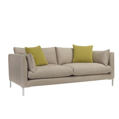 Ellis 3 Seater Sofa Beige