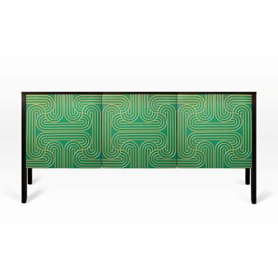 Emerald Loop Cabinet 3 Door