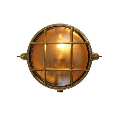 Ergo Wall Light Natural Brass