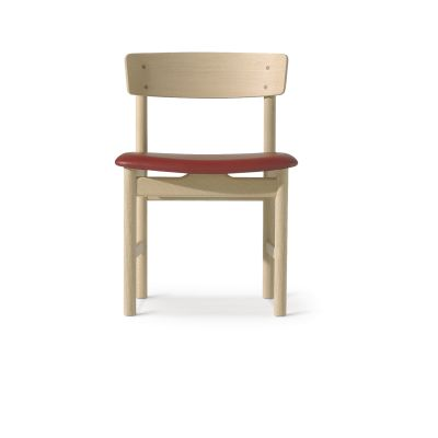 Mogensen 3236 Chair Smoke Oak Oiled, Leather 70 Beige