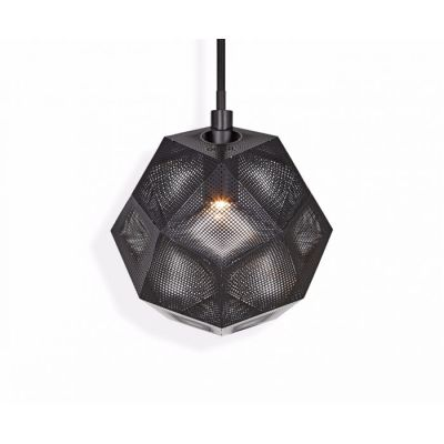 Etch Mini Pendant Light Black