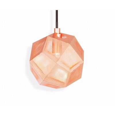 Etch Mini Pendant Light Copper