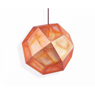 Etch Pendant Light - Ex display Copper