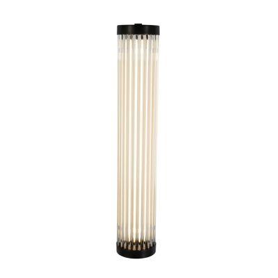 Extra Narrow Pillar Light 7212 (LED) Weathered Brass, 40