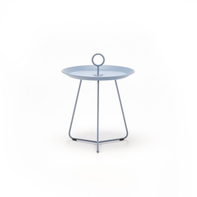 Eyelet Tray Side Table Pigeon Blue, 45cm