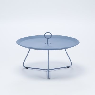 Eyelet Tray Side Table Pigeon Blue, 70cm