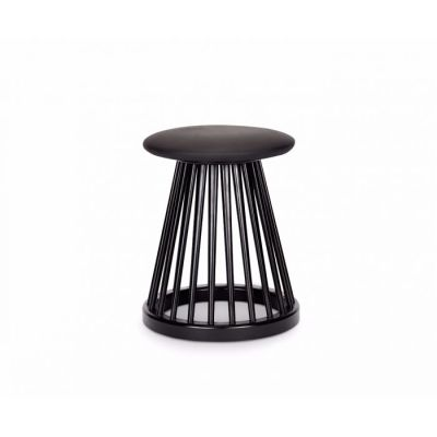 Fan Stool Black