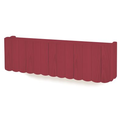 Fanny Shelf Bordeaux, Large