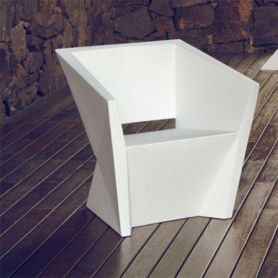 Faz Armchair  72 x 65 x 72 cm White