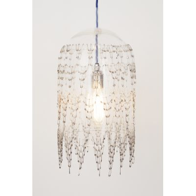 Fibula Lux Large Pendant Light Silver