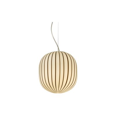 Filigrana Pendant Light S4 Cipolla, White with Black