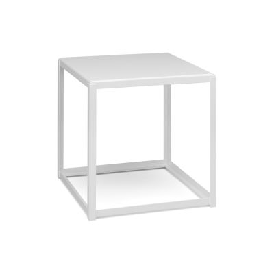FK12 Fortyforty Stackable Side Table Signal White, Powder Coated Steel Signal white, Powder Coated Steel Jet black