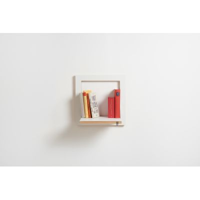 Fläpps Square Shelf White