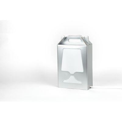 Flamp Gold & Silver Lamp Silver