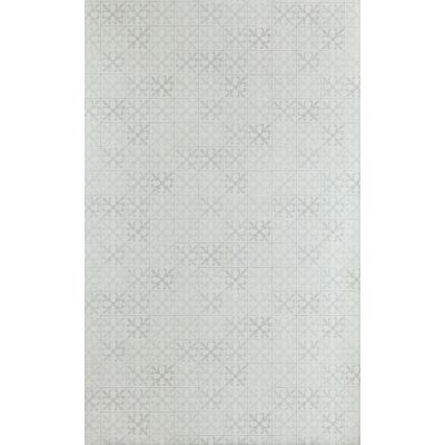 Fleur de Lys Tile Wallpaper  Vintage Grey