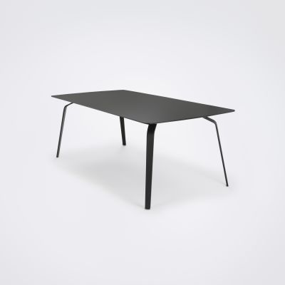 Float Dining Table Black Linoleum, 160cm