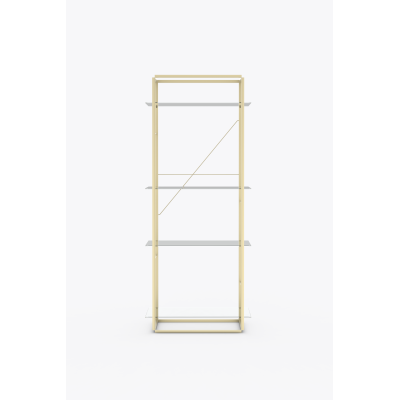 Florence Shelves Raw Gold, Large